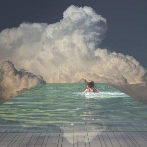 Charlie Davoli, If the rain is coming down heavily at X angle?, 2016, Stampa Fine-Art Epson k3 inkjet pigment su Hahnemühle Baryta 310 gsm, pannellato su supporto dibond, Edizione limitata 7 di VII, 60 x 60 cm